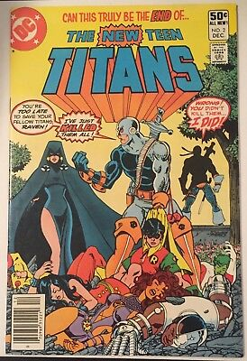 NEW TEEN TITANS 2 (LOT OF 1-80) -  1st, 2nd DEATHSTROKE - DC COMICS