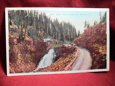 Vintage Postcard - Rustic Falls, Yellowstone National Park