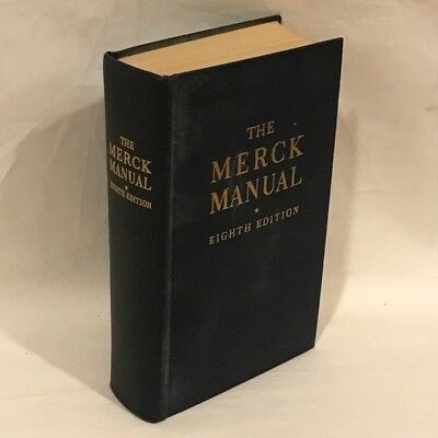 The merck manual of diagnosis therapy eighth edition 1950 the merck manual of diagnosis therapy eighth edition 1950 hardcover fandeluxe Choice Image