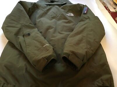 b6e2d41b2 THE NORTH FACE Prodigy Men's Sz SP HYVENT Olive Green Ski Snowboard Jacket