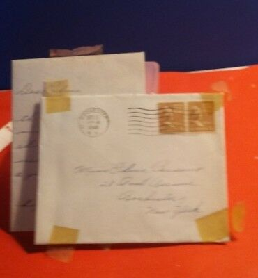 Vintage 1945 Hand Written Letter Collectible