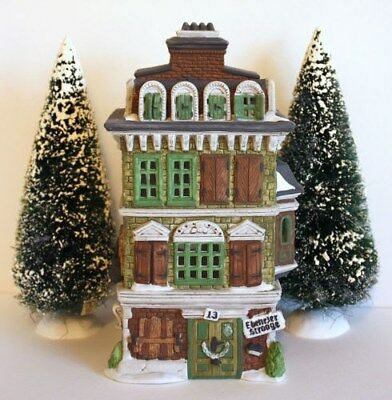 department 56 dickens village The Flat of Ebenezer Scrooge # 5587-5 New in box