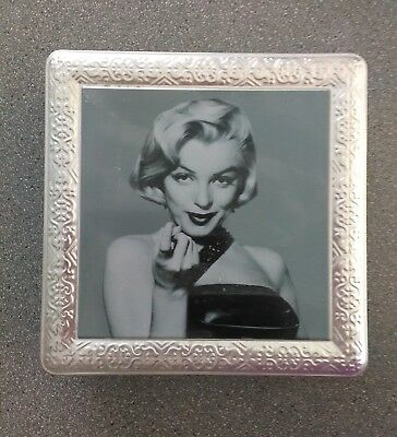 """""""marilyn Monroe"""" (Empty) Biscuit Tin - Used"""