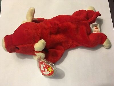 Ty SNORT beanie baby with multiple errors