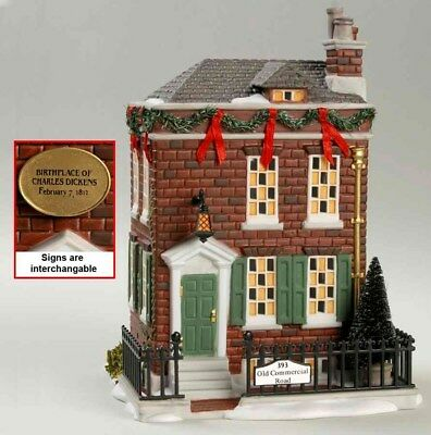 department 56 dickens village LIMITED EDITION Dicken's Birthplace # 56.58710 New