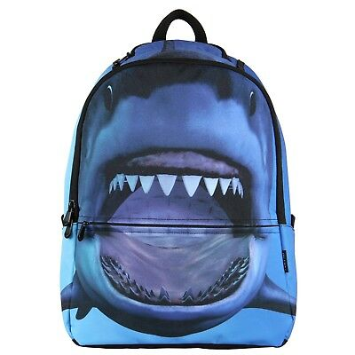 Cool Animal Shark Backpack for Kids Boys Travel Hiking Backpack Book Bag Gift