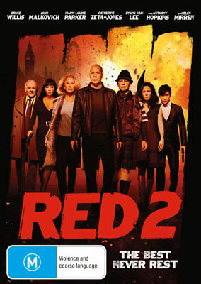 Red 2 - DVD (NEW & SEALED)