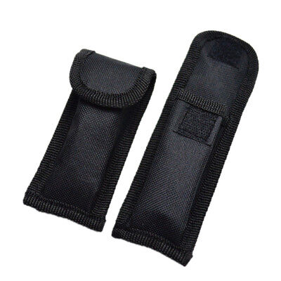 Hot Mini Small Black Nylon Sheath For Folding Pocket Knife Plier Pouch Case K093