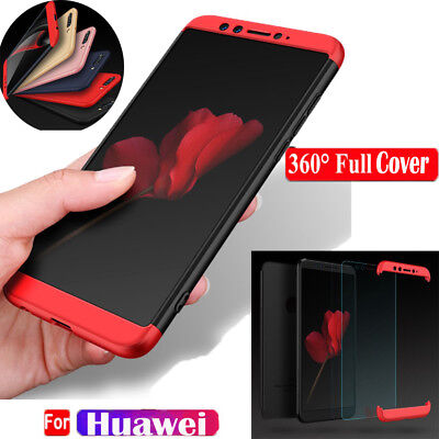 Shockproof Full Body 360°Protective Hard Slim Case Cover For Huawei Nova2S V10/9