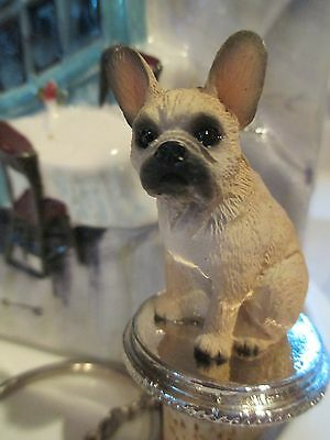French  Bulldog    Fawn   Dog Wine Stopper