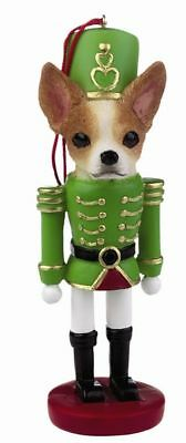 Chihuahua  Tan Nutcracker  Soldier Dog Ornament #10