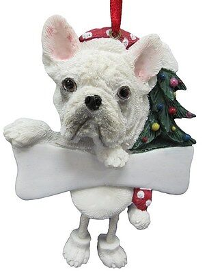 French Bulldog ~ Dangling Dog Ornament #64