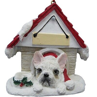 French Bulldog  ~ Doghouse  Ornament  ~ #64