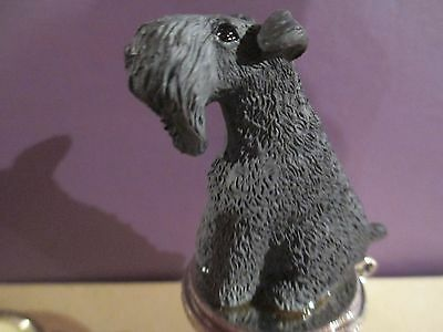 Kerry  Blue  Terrier  Dog   Wine Stopper