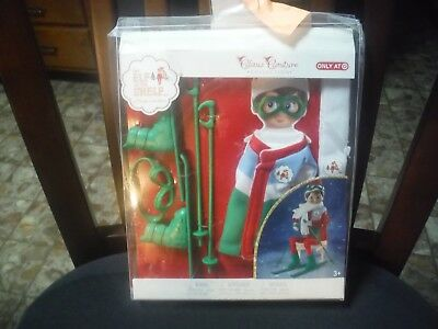 Elf on the Shelf Claus Couture Arctic Ski Set Winter Outfit New in Damaged Box