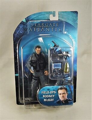 StarGate Atlantis Series 2 FIELD OPS RODNEY McKAY action figure (NIP)
