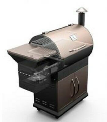 Zgrills 700SQ. in Pellet Smoker BBQ Grill with Digital Controls and barbecue 7-1