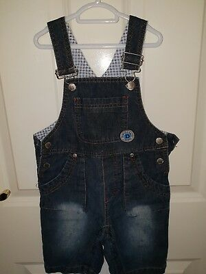 Toddler Boys size 1 Trendy Summer Overalls