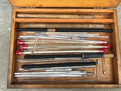 Vintage Antique Scientific Lab Thermometers  TAYLOR TRERICE MOELLER Huge Lot 32