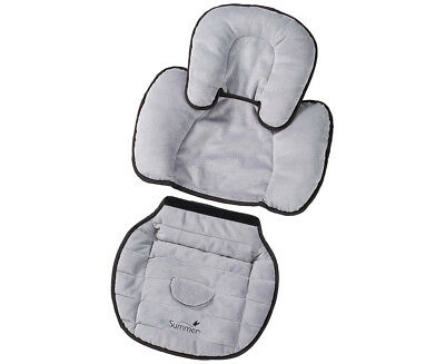 Summer Infant 2-in-1 Snuzzler Piddle Pad - Grey (T583)