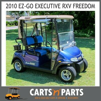 Ezgo 2010 Rxv Executive Freedom Golf Cart Buggy Ac Motor