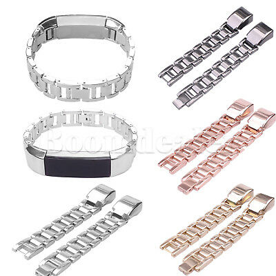 Stainless Steel Link Watch Band Bracelet Strap for Fitbit Alta Activity Tracker