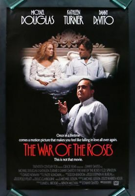 The War Of The Roses DVD Michael Douglas New and Sealed Australia All Regions