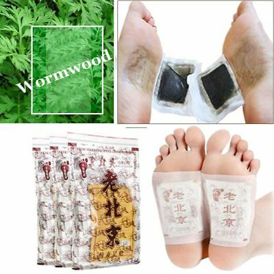 Detox Foot Pads Patch Entgiftung Giftstoffe Fit Health Care Detox Pad
