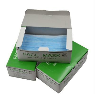 New 50pcs/box Disposable Surgical Face Salon Dust Cleaning Ear Loop Medical Mask