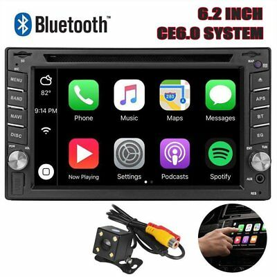"6.2""Car Stereo  Autoradio DVD Player Radio Touch Screen For phone mk"