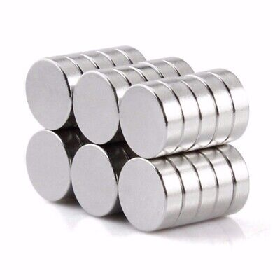 50pcs N50 4x2mm Aimants Forts Rond Taille Rare-Terre Néodyme Aimant DIY