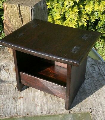 Antique Vintage Beautiful Hand Made Wooden Childs Stool *