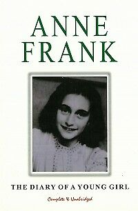 ANNE FRANK: THE DIARY OF A YOUNG GIRL - Complete & Unabridged  NEW