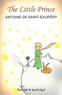 THE LITTLE PRINCE - by Antoine De Saint-Exupery  -  NEW