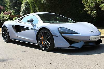 2018 McLaren 570S in MSO Defined Ceramic Grey (VAT Qualifying) Petrol grey Semi