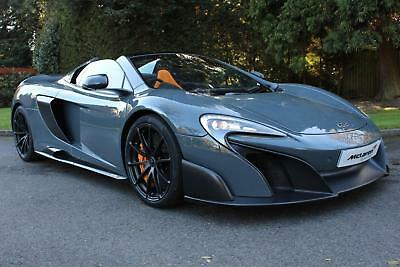 2016 McLaren 675LT with Club Sport Pro Pack Petrol grey Semi Auto