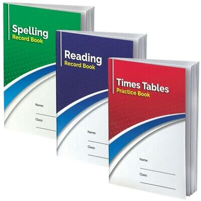 School Reading Record Book Diary Planner Comprehension Literacy Childrens A5
