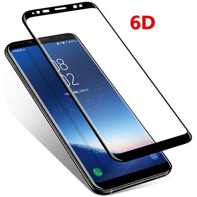 luxury 6D 9H TEMPERED GLASS SCREEN PROTECTOR FOR SAMSUNG Galaxy S8 S9 Plus CH
