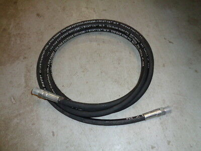 "New 1/4"" NPT x 12'-6"" Porta-Power ~ Hydraulic Jack Hose ~ 3,260 PSI"