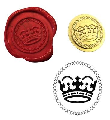Royal Crown Royalty Wax Stamp Seal Starter Kit or Buy Coin Only XWS039B/XWSC354