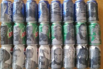 Pepsi Star Wars collectors cans - Full set