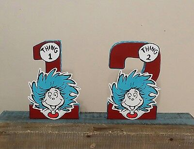 Thing 1 Thing 2 baby shower, Thing 1 Thing 2 birthday, Dr Seuss birthday