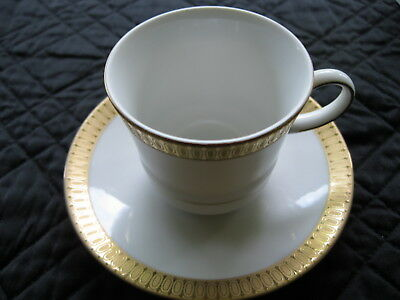Ant/Vintage Winterling Marktleuthen Bavaria Cup & Saucer with Gold Rim 721-191