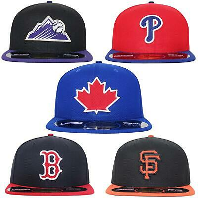 New Era 59Fifty Rockies Phillies Blue Jays Giants Red Sox Fitted Baseball Cap