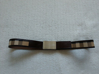 bd3f341371b GUCCI DOUBLE SIDED Black Burgundy Leather Belt Size 29 - 32 Made in ...