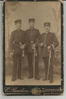 German Military Photo Officers Uniforms Soldiers Photographer Paulsen Cabinet C