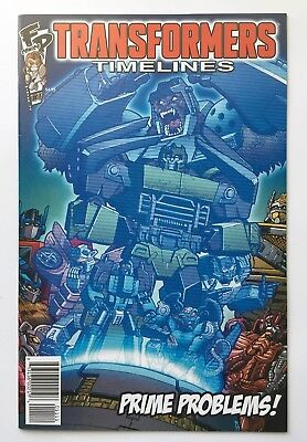 Transformers Timelines #11 Cybertron's Most Wanted Winter 2015 Fun Publications