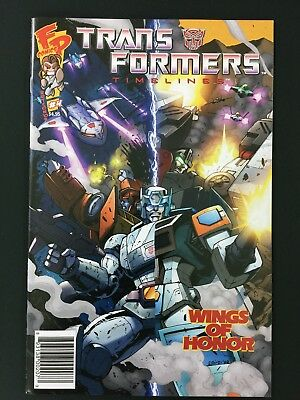 Transformers Timelines #4 Wings of Honor Botcon 2009 Comic Fun Publications