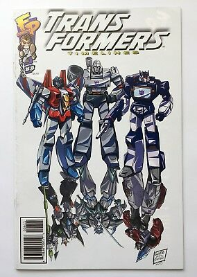 Transformers Timelines #8 Termination #B Botcon 2013 Comic Fun Publications