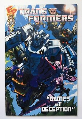 Transformers Timelines #2 Games of Deception Summer 2007 Comic Fun Publications